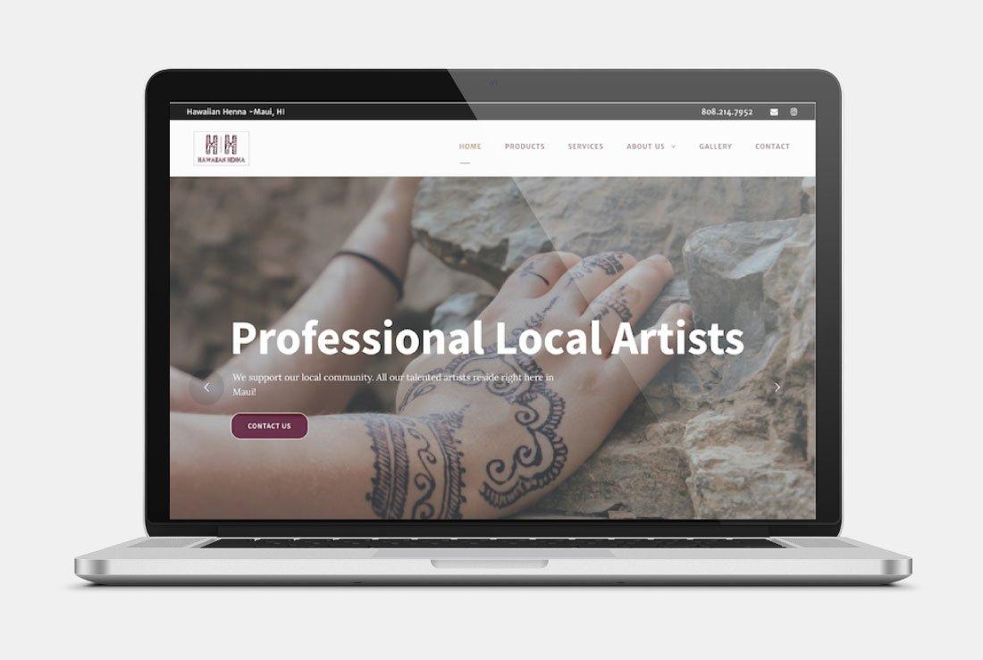 maui hawaiian henna website